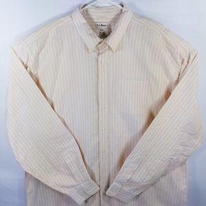 LL Bean XXLT oxford shirt TALL